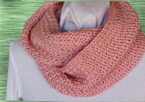Easy Crochet Patterns For Cowls Crocheted Cowl Pattern Etsy