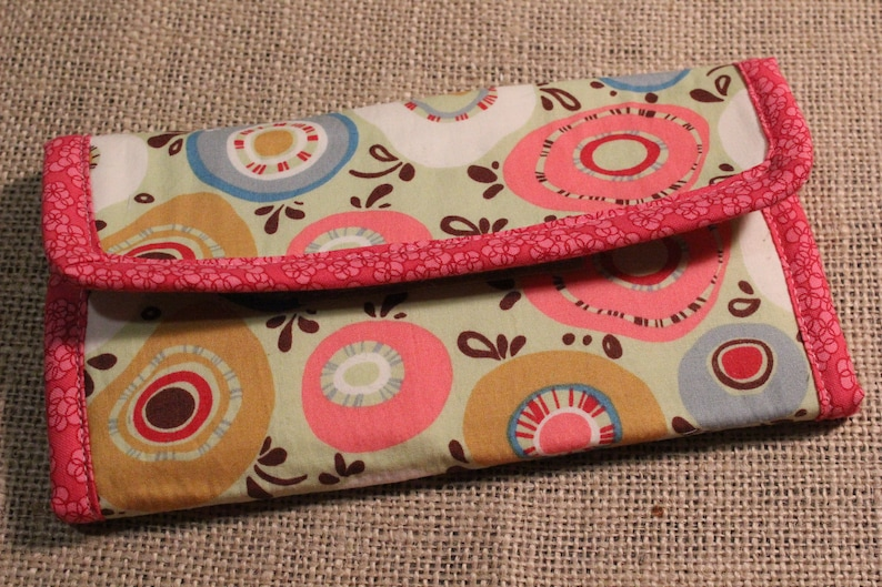 Sewing Pattern for Wallet Full Size Wallet Sewing Pattern image 0
