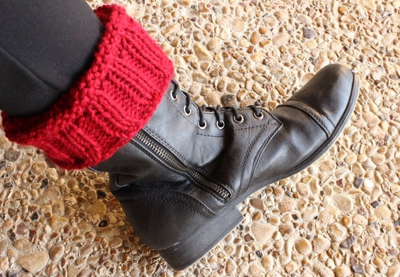 Knitting Pattern For Boot Cuffs Knit Patterns For Boot Cuffs Etsy