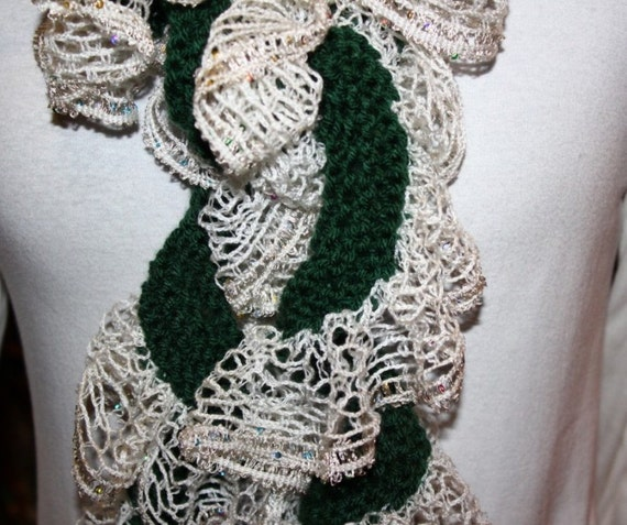 Knitting Patterns For Sashay Yarn Knit Pattern For Ruffle Etsy