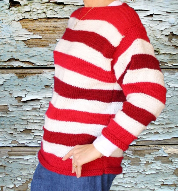 Knit Sweater Pattern Easy Knitting Pattern for Sweater   Etsy