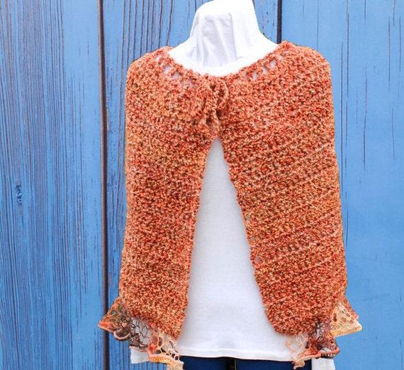Crochet Pattern For Sashay Yarn Ruffle Edge Wrap Pattern Etsy