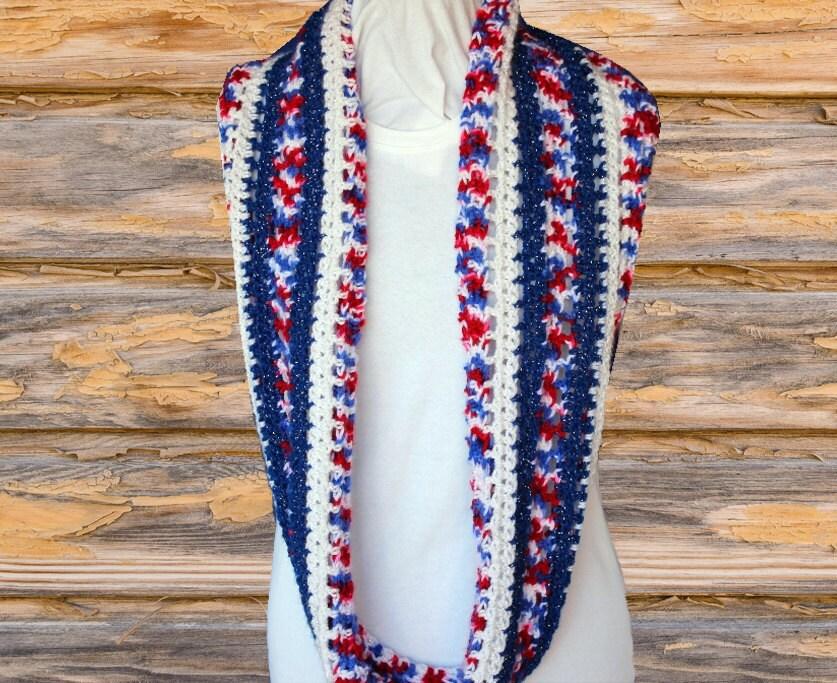 Crochet Pattern For Cowl Easy To Crochet Scarf Pattern Etsy