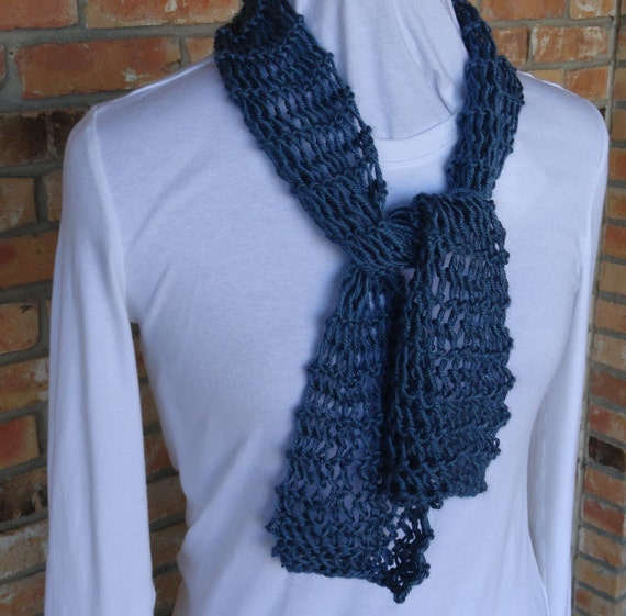 Knit Scarf Pattern Easy To Knit Scarf Plus Free Knit Scarf Etsy