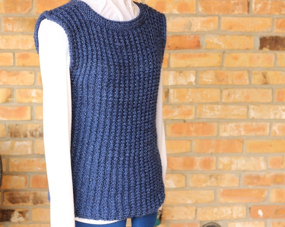 Simple Knit Sweater Pattern Knitting Pattern For Sweater Etsy
