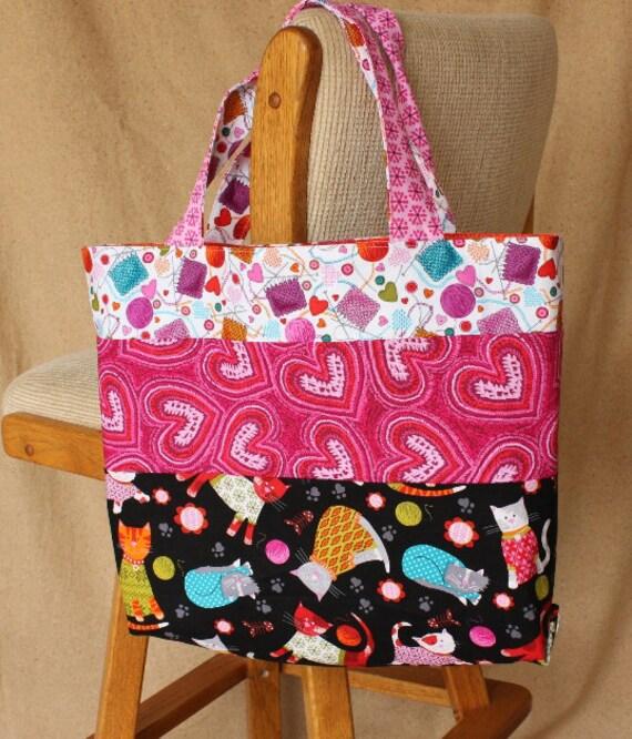 Sewing Pattern For Bag Large Bag Pattern Knitting Bag Etsy