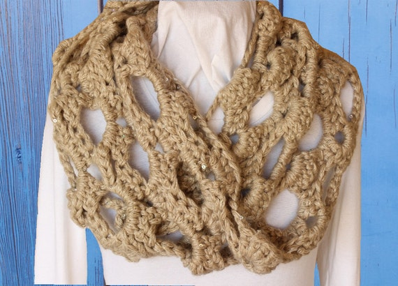 Chunky Crocheted Cowl Pattern Crochet Pattern For Chunky Etsy