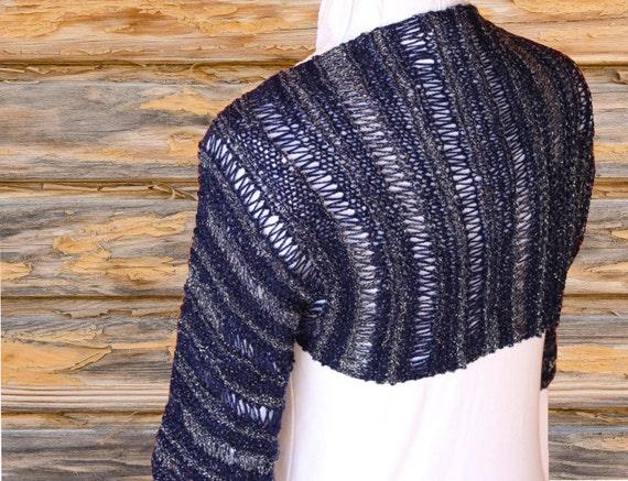 Knit Shrug Pattern, Easy to Knit Shrug Patterns, Knit Sweater ...