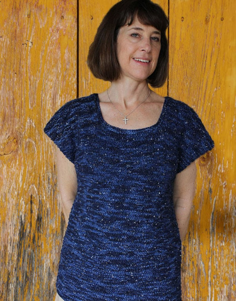 Knitting Patterns for Sweater Dashes Knit Sweater Design image 0