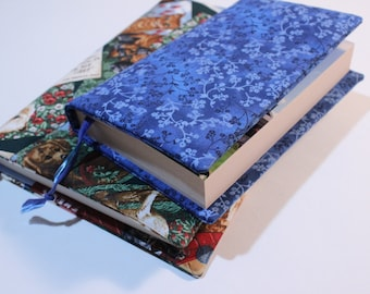 Sewing Tutorial for Fabric Book Covers, Pattern for Book Covers in Different Sizes, Paperback Book Cover Design, Hardback Book Cover Pattern