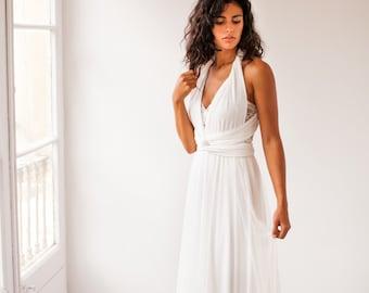 Sheer tulle wedding dress, flowy tulle wedding dress, romantic flowy wedding dress, ivory tulle bridal dress, sheer wedding dress, romantic