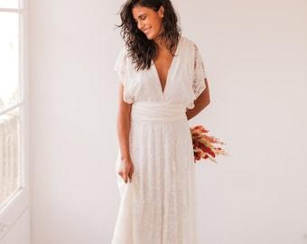 Bohemian wedding dress 779d611e609
