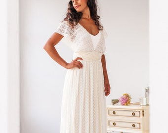 Country Wedding Dress Etsy