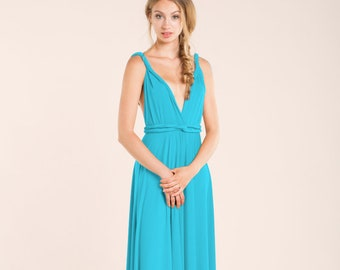 2b9149a26 Turquoise blue dress