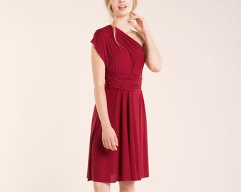 d1fc0b26982eaa SALE Bordeaux short dress