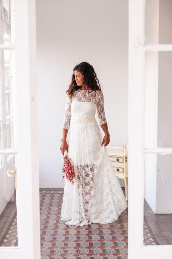 Como lavar un vestido de novia de encaje