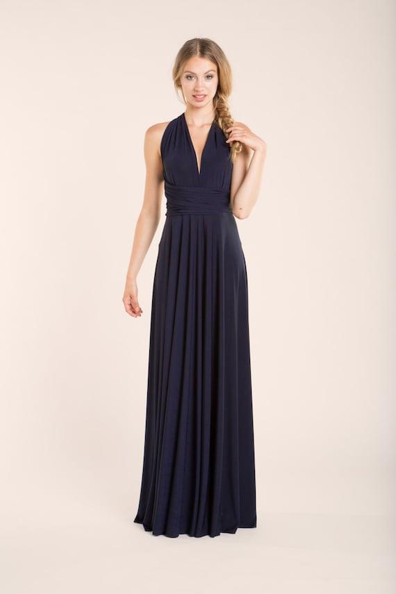 Vestidos de dama de honor azul electrico