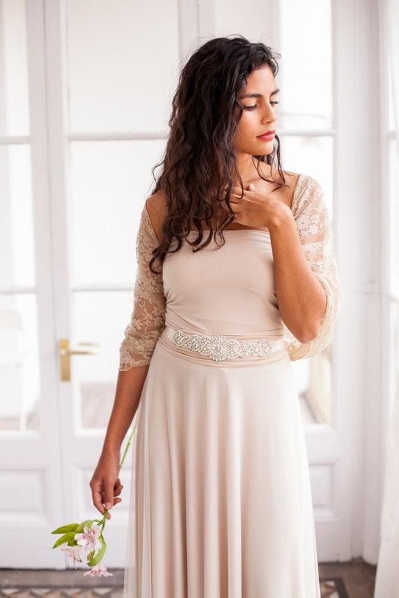 Hochzeit Kleid Schal Braut Vertuschen Goldene Spitze Achselzucken Goldene Hochzeit Wickeln Romantische Spitze Wickeln Brautkleid Achselzucken
