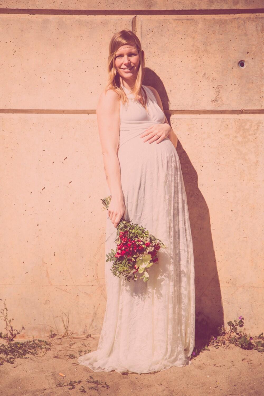 Vestido novia blanco vestido encaje largo boda vestido | Etsy