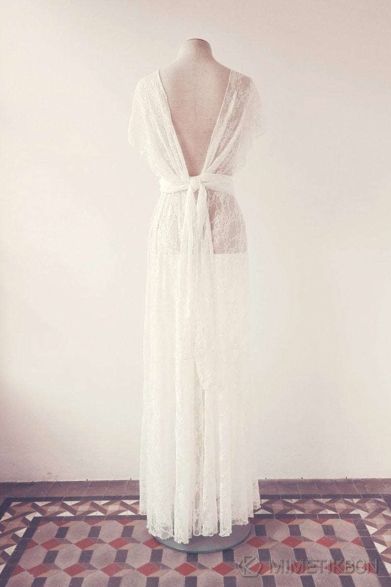Wedding dress Lace wedding dress separates bride lace gown image 0
