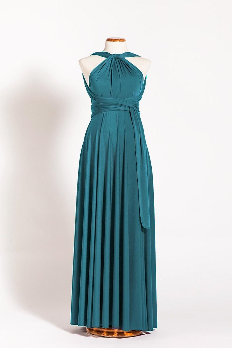 9d9ba00b567 Maternity dress teal infinity maternity dress turquoise