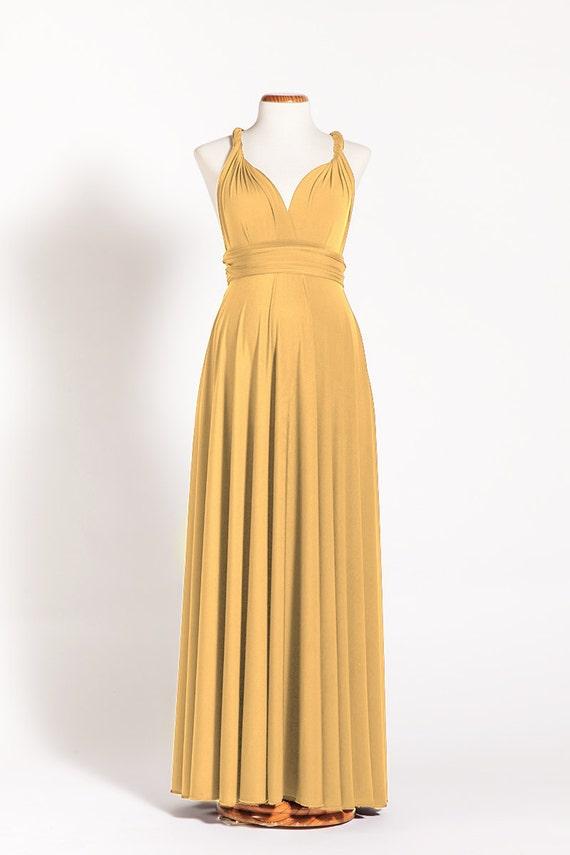 Long Maternity Dress Mustard Infinity Dress Yellow Maternity Etsy