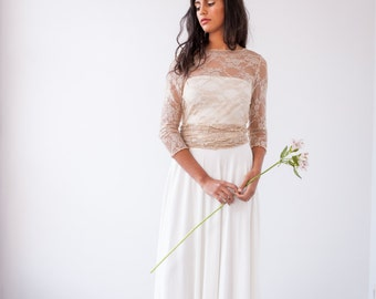 Lace wedding gown with sleeves, Long sleeve wedding gown, Wedding gowns with sleeves, Long sleeve lace bridal gown, Lace bridal gown