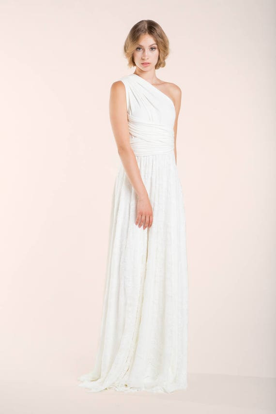 Rustic wedding dress convertible bridal gown wedding dress | Etsy
