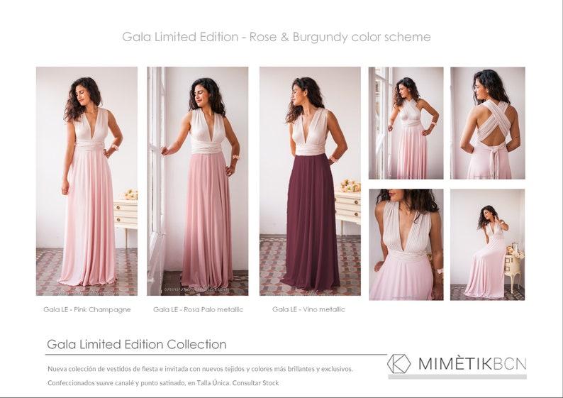 d194cc644b0 Blush Bridesmaids Dress Floor Length Women s Dress Long
