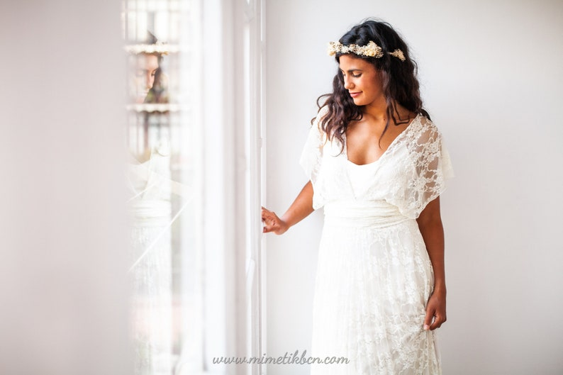 Grecian Wedding Dress.Grecian Wedding Dress Grecian Goddess Dress Soft Lace Wedding Dress Wedding Dress Greece Grecian Dress Lace White Lace Dress