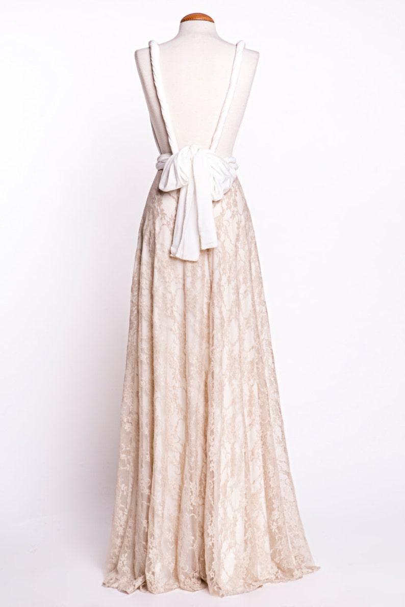 Vestido novia espalda descubierta vestido encaje novia  afb2bb9f4e78