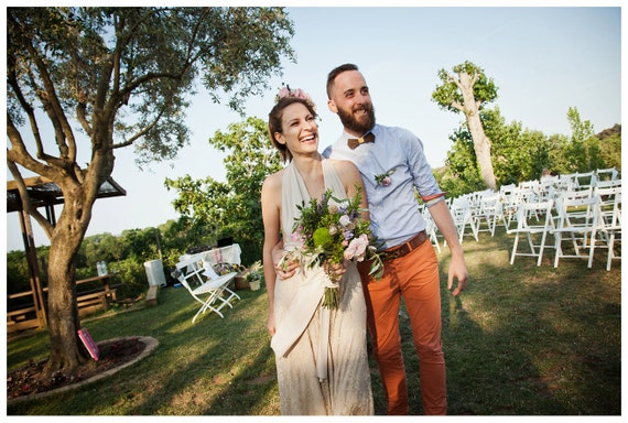Boho Wedding Dress Lace Wedding Dress Lace Maxi Dress