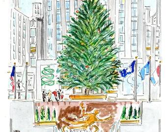 Rockefeller Center Holiday Tree