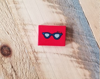 """Mini Painting """"Cheap Sunglasses"""" Hand Painted - Original -One of a kind!"""