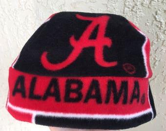 5df9ff547eddf Alabama Crimson Tide Fleece Beanie Hat