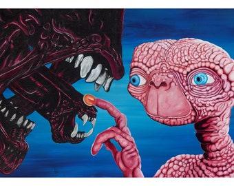 "Aliens 11""x17"" print"