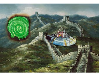 """The Great Wall 11""""x17"""" print"""