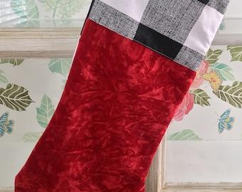 red velvet christmas stocking christmas stockings personalized christmas stockings buffalo check stockings crushed velvet stockings - Velvet Christmas Stockings