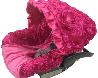 Infant Car Seat Covers Baby Ritzy Pink Custom Carseat Cover