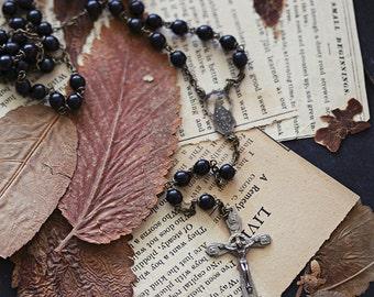 rosary postcard set