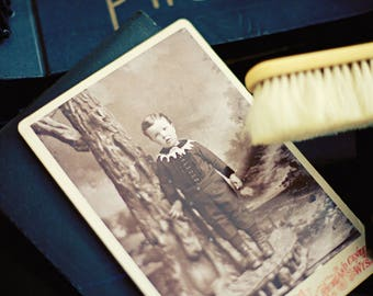 old photograph postcard set