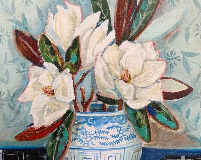 Second Chance Magnolias Print