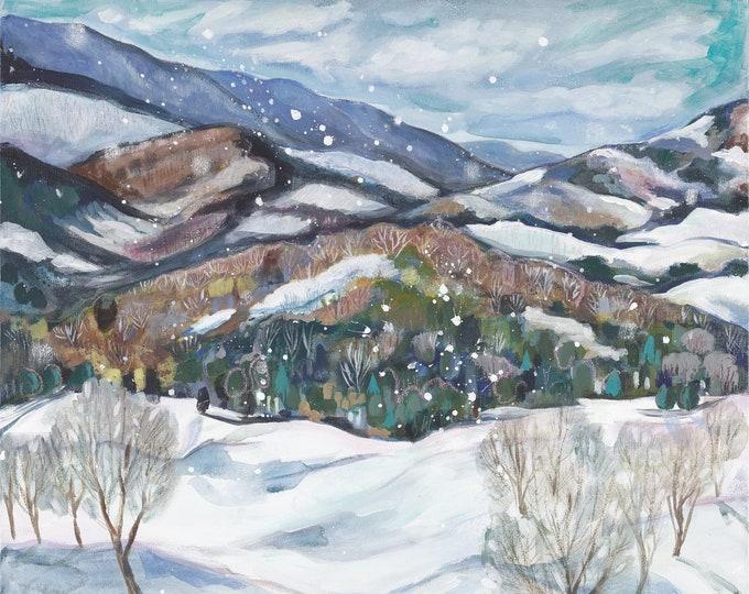 First Snow Print