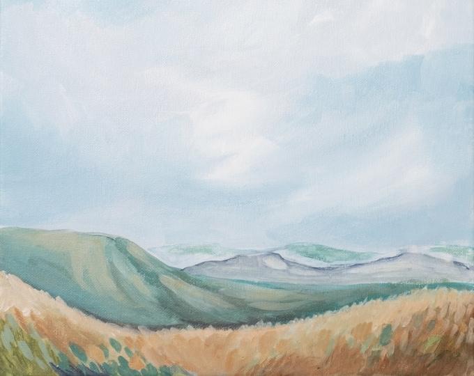 Blue Ridge Overlook 1. PRINT