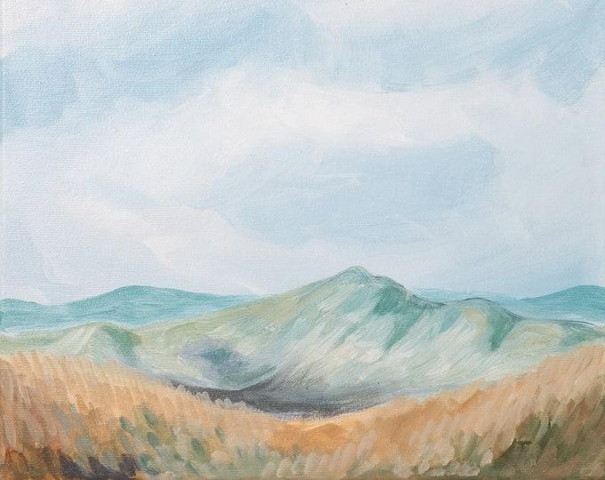Blue Ridge Overlook 2. PRINT