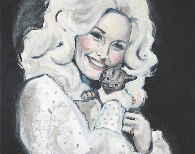 Dolly with Kitten