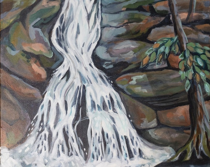 Crabtree Falls Print
