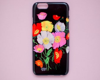 iPhone Case - Colorful Icelandic Poppies - 6S and 6 Plus