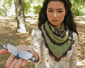 Leafwing PDF Knitting Pattern Instant Download (ENGLISH ONLY)