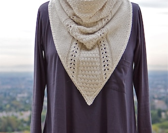 Cowboy Cowl PDF Knitting Pattern Instant Download (ENGLISH ONLY)